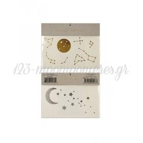 Tattoos Moon & Star - ΚΩΔ:135487-JP