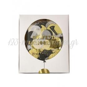 Metallic Confetti Balloon Kit (8τεμ) - ΚΩΔ:138358-JP