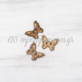 Διακοσμητικο Κουμπακι Πεταλουδα - ΚΩΔ:1077-Pr