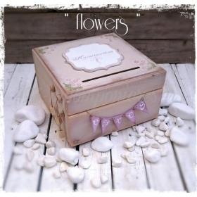ΚΟΥΤΙ ΕΥΧΩΝ ΜΕ ΡΟΜΑΝΤΙΚΑ ΛΟΥΛΟΥΔΙΑ - ΚΩΔ:FLOWERS-BOX-BM