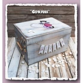 ΜΠΑΟΥΛΟ ΒΑΠΤΙΣΗΣ ΞΥΛΙΝΟ ΚΟΥΚΛΑ GORJUSS - ΚΩΔ: GORJUSS-BM