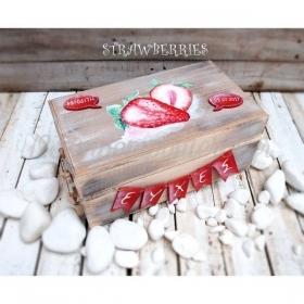 ΚΟΥΤΙ ΕΥΧΩΝ ΜΕ ΦΡΑΟΥΛΕΣ - ΚΩΔ: STRAWBERRIES-BOX-BM