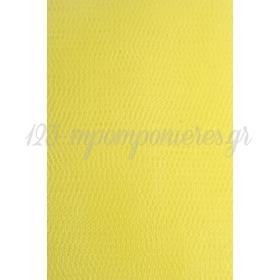 Τουλι Ελληνικου Τυπου Κιτρινο - Συσκευασια 10 Μετρων - ΚΩΔ:3020110-Yellow-Nt