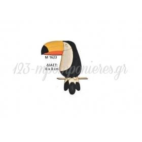 Ξυλινο Διακοσμητικο Τουκαν 6Χ8 Εκατ. - ΚΩΔ:M1623-Ad