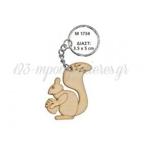 ΞΥΛΙΝΟ ΜΠΡΕΛΟΚ ΣΚΙΟΥΡΟΣ 3.5Χ5 ΕΚΑΤ. - ΚΩΔ:M1734-AD