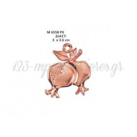 ΜΕΤΑΛΛΙΚΟ ΔΙΑΚΟΣΜΗΤΙΚΟ ΡΟΔΙΑ 3Χ3.6 ΕΚΑΤ. - ΚΩΔ:M6558PX-AD