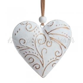 Μεταλλικη Κρεμαστη Καρδια - ΚΩΔ:67205-Pr