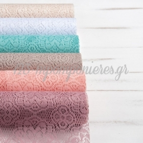 Υφασματινη Δαντελα Crochet Σε Ρολο - ΚΩΔ:T696-Pr