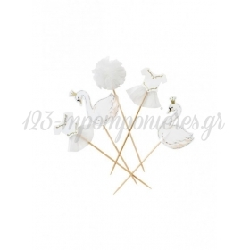 Cake Toppers We Love Swan - ΚΥΚΝΟΣ - ΚΩΔ:SWAN-TOPPERS-JP