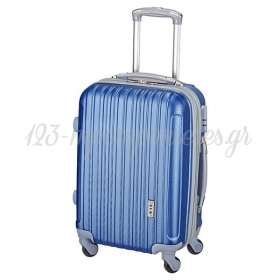 Βαλιτσα Ταξιδιου Καμπινας Trolley Μπλε Ρουα - ΚΩΔ: 8006-Royal-Rm