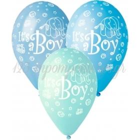 ΜΠΑΛΟΝΙΑ «Boy» ΣΕ 3 ΑΠΟΧΡΩΣΕΙΣ ΤΟΥ ΜΠΛΕ 13'' (33cm) – ΚΩΔ.:13612202-BB