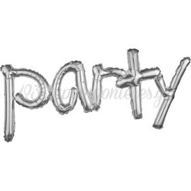 ΜΠΑΛΟΝΙ FOIL ΓΕΝΕΘΛΙΩΝ SUPERSHAPE «Party» ΑΣΗΜΙ ΕΝΩΜΕΝΗ ΦΡΑΣΗ – ΚΩΔ.:536702-BB