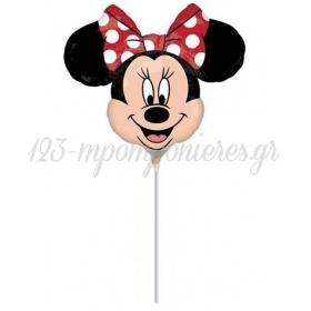 ΜΠΑΛΟΝΙ FOIL MINI SHAPE 14''(36cm) Minnie Mouse – ΚΩΔ.:22956-BB