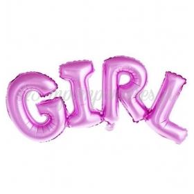 ΜΠΑΛΟΝΙ FOIL 91x36cm ΓΙΑ ΓΕΝΝΗΣΗ SUPERSHAPE ΡΟΖ GIRL – ΚΩΔ.:207122-BB