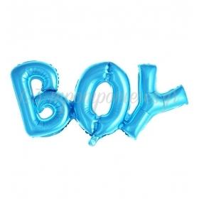ΜΠΑΛΟΝΙ FOIL 91x36cm ΓΙΑ ΓΕΝΝΗΣΗ SUPERSHAPE ΓΑΛΑΖΙΟ BOY – ΚΩΔ.:207123-BB