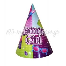 ΚΑΠΕΛΑΚΙΑ ΠΑΡΤΥ GLAMOUR GIRL - ΚΩΔ:34503108-BB