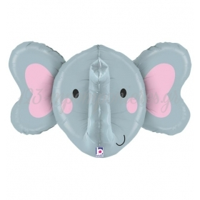Μπαλονι Foil Super Shape Ελεφαντακι 3D 86Cm – ΚΩΔ.:35567-Bb