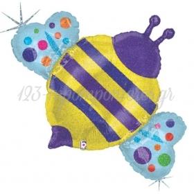 Μπαλονι Foil Super Shape Μελισσα Holographic 91Cm – ΚΩΔ.:85562-Bb