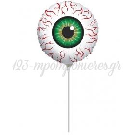 ΜΠΑΛΟΝΙ FOIL MINI SHAPE 4''(10cm) Διαβολικό Μάτι – ΚΩΔ.:12516-BB