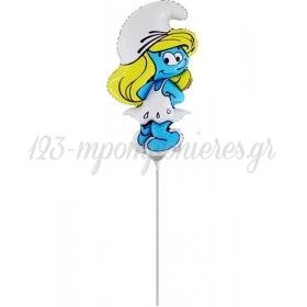 """Μπαλονι Foil Mini Shape 15""""(40Cm) Στρουμφιτα – ΚΩΔ.:1532-Bb"""