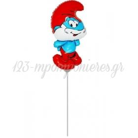 """Μπαλονι Foil Mini Shape 15""""(40Cm) Μπαμπαστρουμφ – ΚΩΔ.:1534-Bb"""