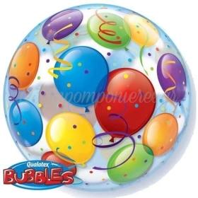 """Μπαλονι Foil 22""""(56Cm) Μπαλονια Bubble Μονο – ΚΩΔ.:15606-Bb"""