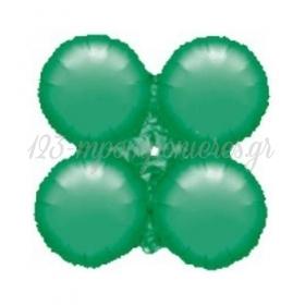"""Πρασινο Μπαλονι Foil Για Γιρλαντα 16"""" (40Cm) – ΚΩΔ.:206104-Bb"""