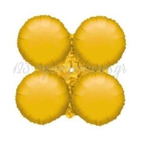 """Χρυσο Μπαλονι Foil Για Γιρλαντα 16"""" (40Cm) – ΚΩΔ.:206105-Bb"""
