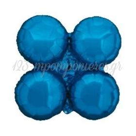 """Μπλε Μπαλονι Foil Για Γιρλαντα 16"""" (40Cm) – ΚΩΔ.:206106-Bb"""