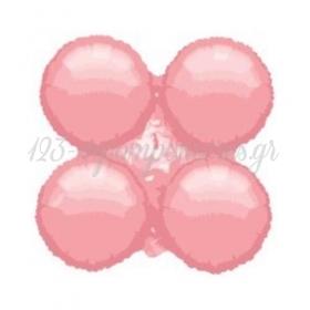 """Ροζ Μπαλονι Foil Για Γιρλαντα 16"""" (40Cm) – ΚΩΔ.:206108-Bb"""
