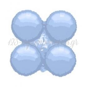 """Γαλαζιο Μπαλονι Foil Για Γιρλαντα 16"""" (40Cm) – ΚΩΔ.:206109-Bb"""