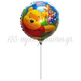 ΜΠΑΛΟΝΙ FOIL MINI SHAPE 7''(18cm) Winnie The Pooh– ΚΩΔ.:206189-BB