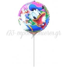 ΜΠΑΛΟΝΙ FOIL MINI SHAPE 7''(18cm) Donald Duck – ΚΩΔ.:206190-BB