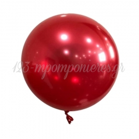 """ΜΠΑΛΟΝΙ FOIL 18""""(45cm) ΚΟΚΚΙΝΟ Bubble Chrome – ΚΩΔ.:207192-BB"""