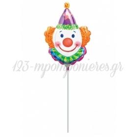 Μπαλονι Foil 35Cm Mini Shape Juggles Κλοουν – ΚΩΔ.:507663-Bb