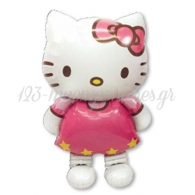 ΜΠΑΛΟΝΙ FOIL AIRWALKERS Hello Kitty 127X76 cm – ΚΩΔ.:523476-BB