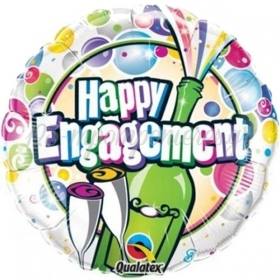 ΜΠΑΛΟΝΙ FOIL 45cm «Happy Engagement» ΣΑΜΠΑΝΙΑ - ΚΩΔ.:14444-BB