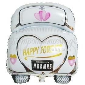 ΜΠΑΛΟΝΙ FOIL 46x60cm SUPER SHAPE «Happy Forever» ΓΑΜΗΛΙΟ ΑΥΤΟΚΙΝΗΤΟ - ΚΩΔ.:206237-BB