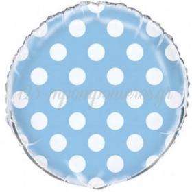 Μπαλονι Foil 45Cm Γαλαζιο Πουα – ΚΩΔ.:206275-Bb