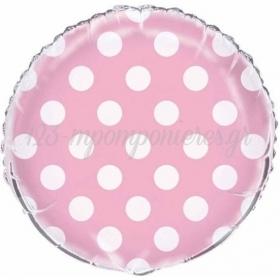 Μπαλονι Foil 45Cm Ροζ Πουα – ΚΩΔ.:206299-Bb