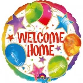 ΜΠΑΛΟΝΙ FOIL 45cm «Welcome Home» CELEBRATION – ΚΩΔ.:508433-BB
