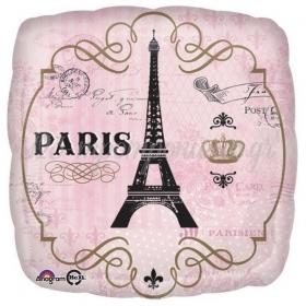 ΜΠΑΛΟΝΙ FOIL 43cm VINTAGE PARIS - ΚΩΔ.:534851-BB