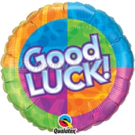 ΜΠΑΛΟΝΙ FOIL 45cm «Good Luck» ΠΟΛΥΧΡΩΜΟ  – ΚΩΔ.:63788-BB