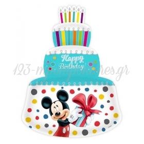 Μπαλονι Foil 59X85Cm Super Shape Mickey & Minnie Γαλαζια Τουρτα – ΚΩΔ.:207103B-Bb