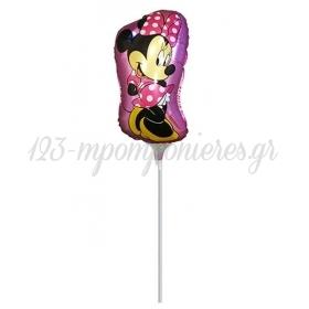 Μπαλονι Foil 27X49Cm Mini Shape Minnie Mouse Ροζ – ΚΩΔ.:207158-Bb