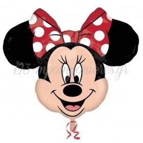 Μπαλονι Foil 53X53Cm Super Shape Minnie Mouse Street – ΚΩΔ.:22912-Bb