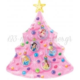 Μπαλονι Foil 50X70Cm Χριστουγεννιατικο Δεντρο Με Πριγκιπισσες Disney – ΚΩΔ.:510247-Bb