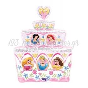 Μπαλονι Foil 53X71Cm Super Shape Τουρτα Με Πριγκιπισσες – ΚΩΔ.:510904-Bb