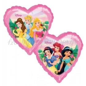 Μπαλονι Foil 45Cm Καρδια Πριγκιπισσες Disney – ΚΩΔ.:513141-Bb