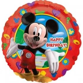 Μπαλονι Foil 45Cm Mickey'S Clubhouse «Happy Birthday» – ΚΩΔ.:514055-Bb